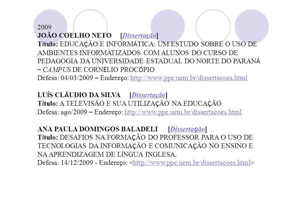 2009 JOÃO COELHO NETO [Dissertação]